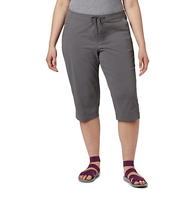 Women's Anytime Outdoor™ Capri - Plus Sizes Anytime Outdoor™ Capri | 249 | 18W, City Grey, front