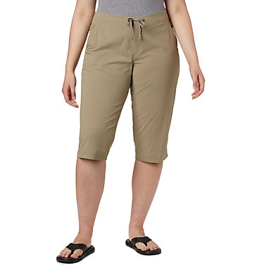 Pantalon capri Anytime Outdoor™ pour femme – Tailles fortes Anytime Outdoor™ Capri | 249 | 16W, Tusk, front