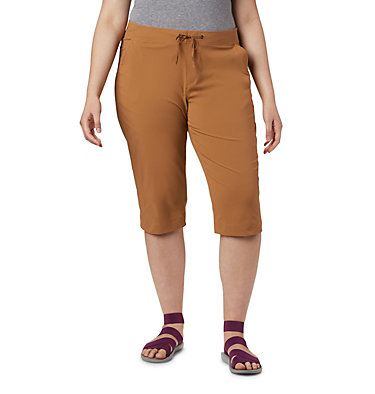 Women's Anytime Outdoor™ Capri - Plus Sizes Anytime Outdoor™ Capri | 249 | 18W, Light Elk, front