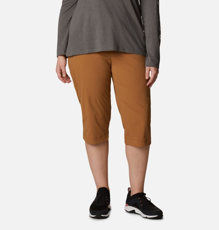 Women's Anytime Outdoor™ Capri - Plus Sizes Women's Anytime Outdoor™ Capri - Plus Sizes, front