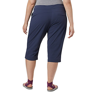 Women's Anytime Outdoor™ Capri - Plus Sizes Anytime Outdoor™ Capri | 249 | 18W, Nocturnal, back