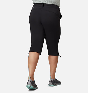 Women's Saturday Trail™ II Knee Pant - Plus Size Saturday Trail™ II Knee Pant | 023 | 16W, Black, back