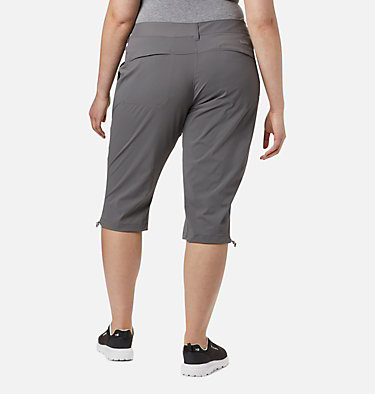 Women's Saturday Trail™ II Knee Pant - Plus Size Saturday Trail™ II Knee Pant | 023 | 16W, City Grey, back