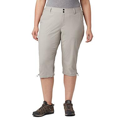 Women's Saturday Trail™ II Knee Pant - Plus Size Saturday Trail™ II Knee Pant | 027 | 16W, Flint Grey, front