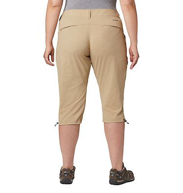 Women's Saturday Trail™ II Knee Pant - Plus Size Saturday Trail™ II Knee Pant | 023 | 16W, British Tan, back