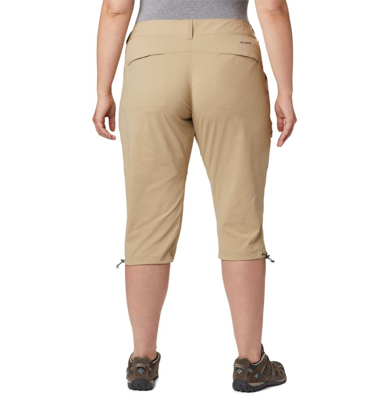Women's Saturday Trail™ II Knee Pants - Plus Size Women's Saturday Trail™ II Knee Pants - Plus Size, back