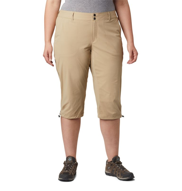 Women's Saturday Trail™ II Knee Pants - Plus Size Women's Saturday Trail™ II Knee Pants - Plus Size, front