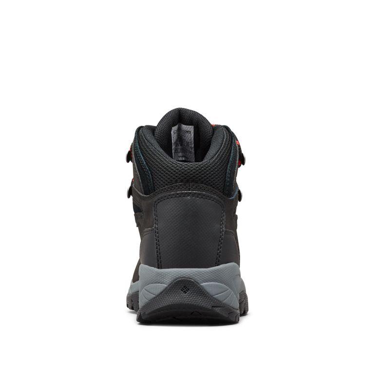 NEWTON RIDGE™ PLUS   010   11 Women's Newton Ridge™ Plus Waterproof Hiking Boot, Black, Poppy Red, back