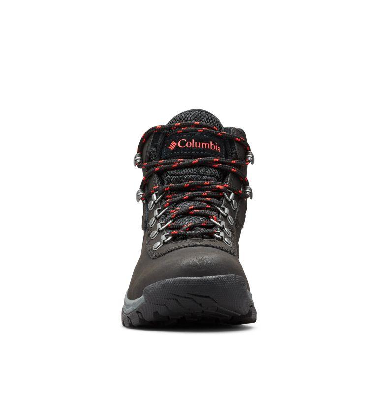 NEWTON RIDGE™ PLUS | 010 | 10.5 Women's Newton Ridge™ Plus Waterproof Hiking Boot, Black, Poppy Red, toe