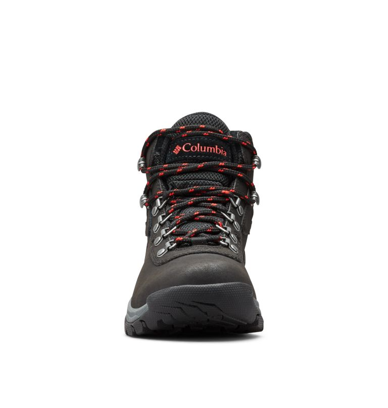 NEWTON RIDGE™ PLUS | 010 | 7.5 Women's Newton Ridge™ Plus Waterproof Hiking Boot, Black, Poppy Red, toe