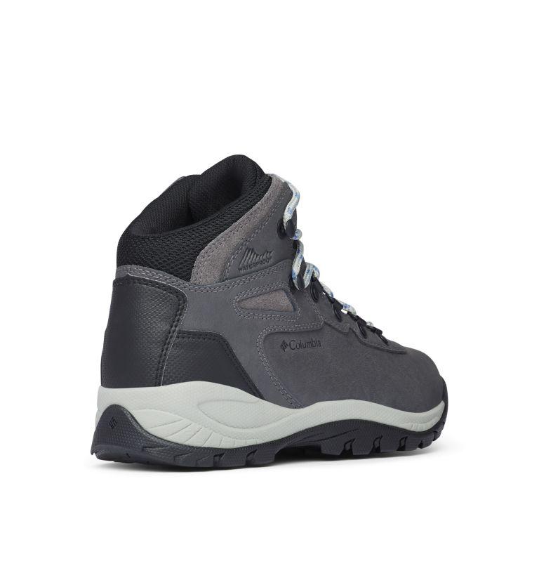 NEWTON RIDGE™ PLUS | 052 | 10 Women's Newton Ridge™ Plus Waterproof Hiking Boot, Quarry, Cool Wave, 3/4 back
