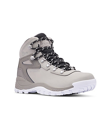 Women's Newton Ridge™ Plus Waterproof Hiking Boot NEWTON RIDGE™ PLUS | 081 | 5.5, Dove, White, 3/4 front