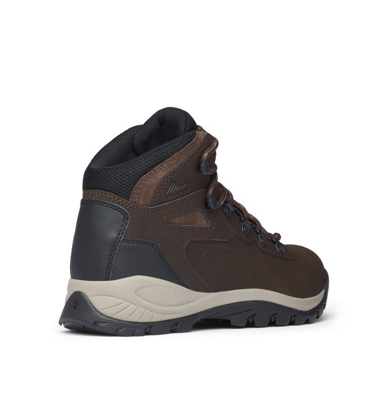NEWTON RIDGE™ PLUS | 231 | 8.5 Women's Newton Ridge™ Plus Waterproof Hiking Boot, Cordovan, Crown Jewel, 3/4 back