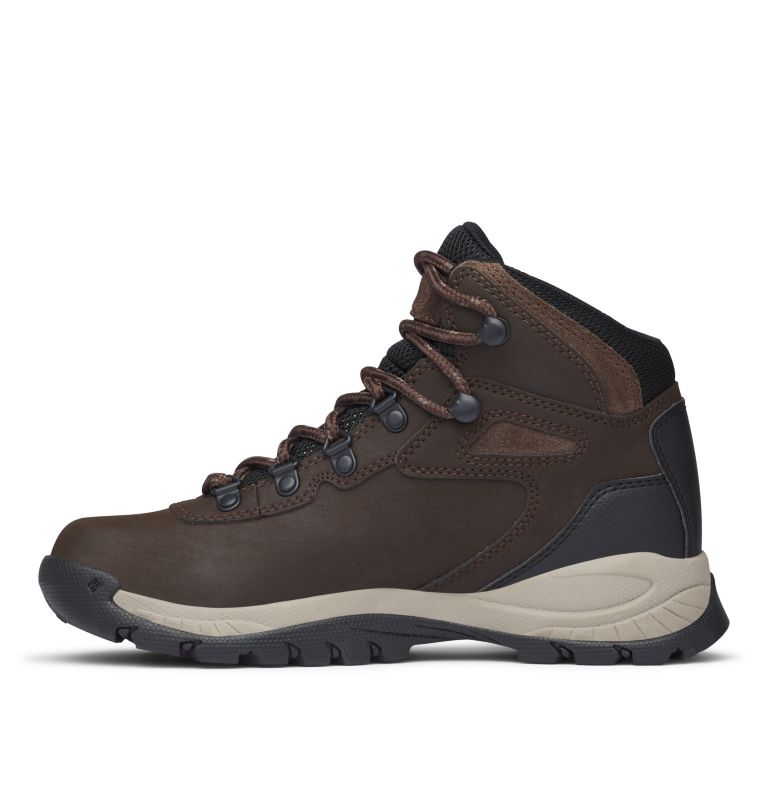 NEWTON RIDGE™ PLUS | 231 | 8.5 Women's Newton Ridge™ Plus Waterproof Hiking Boot, Cordovan, Crown Jewel, medial