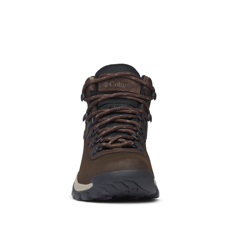 NEWTON RIDGE™ PLUS | 231 | 8.5 Women's Newton Ridge™ Plus Waterproof Hiking Boot, Cordovan, Crown Jewel, toe