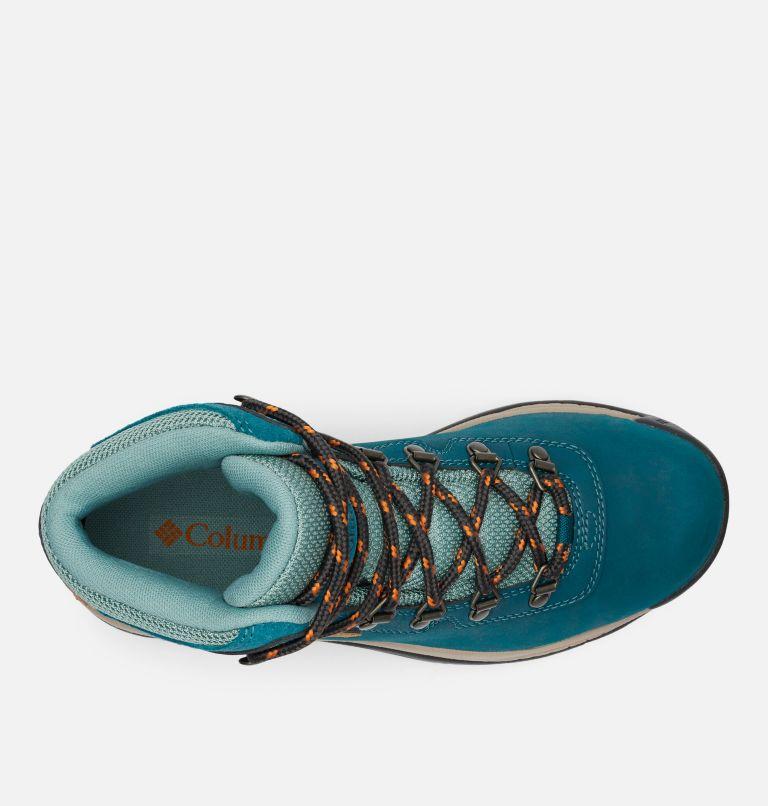 NEWTON RIDGE™ PLUS   314   5.5 Women's Newton Ridge™ Plus Waterproof Hiking Boot, Deep Wave, Dusty Green, top