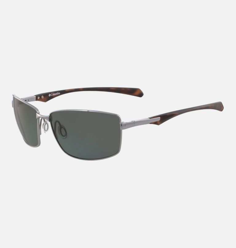 Men's Trollers Best Sunglass | 022 | NONE Men's Trollers Best Sunglasses, Gunmetal/Green Polar, back