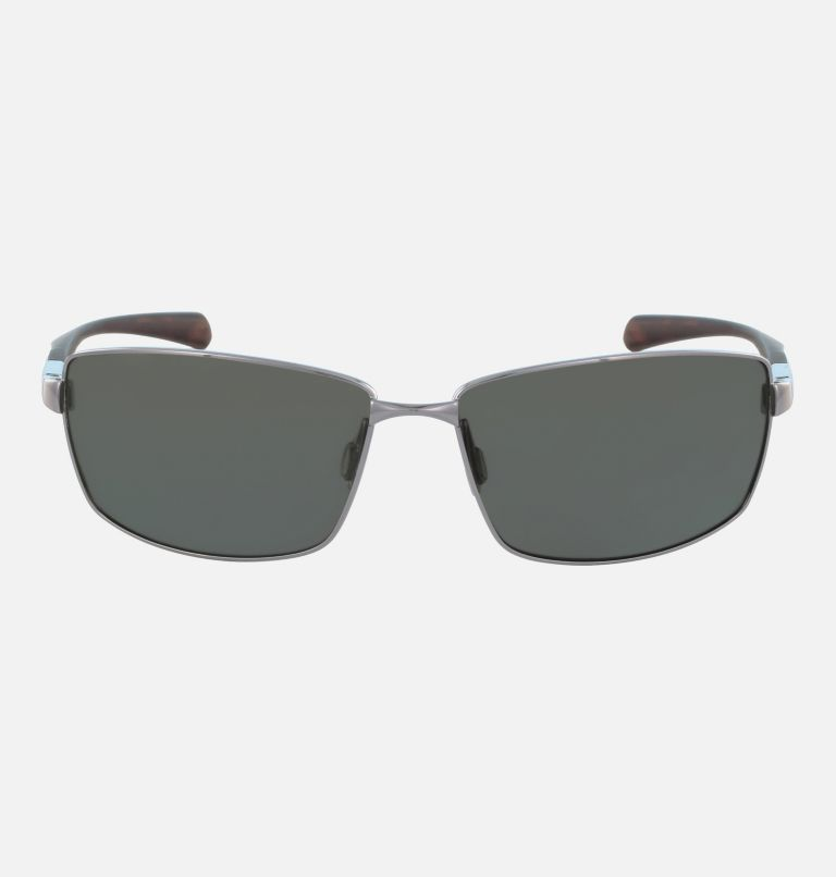 Men's Trollers Best Sunglass   022   NONE Men's Trollers Best Sunglasses, Gunmetal/Green Polar, front