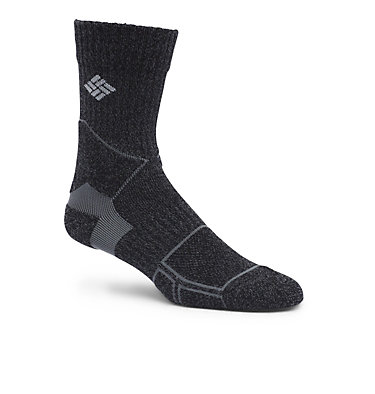 Hike Crew Unisex Sock with Merino Wool Blend - 1-Pack C156 HIKE CREW MERINO LIGHT WEIGHT | 263 | S, Black, front