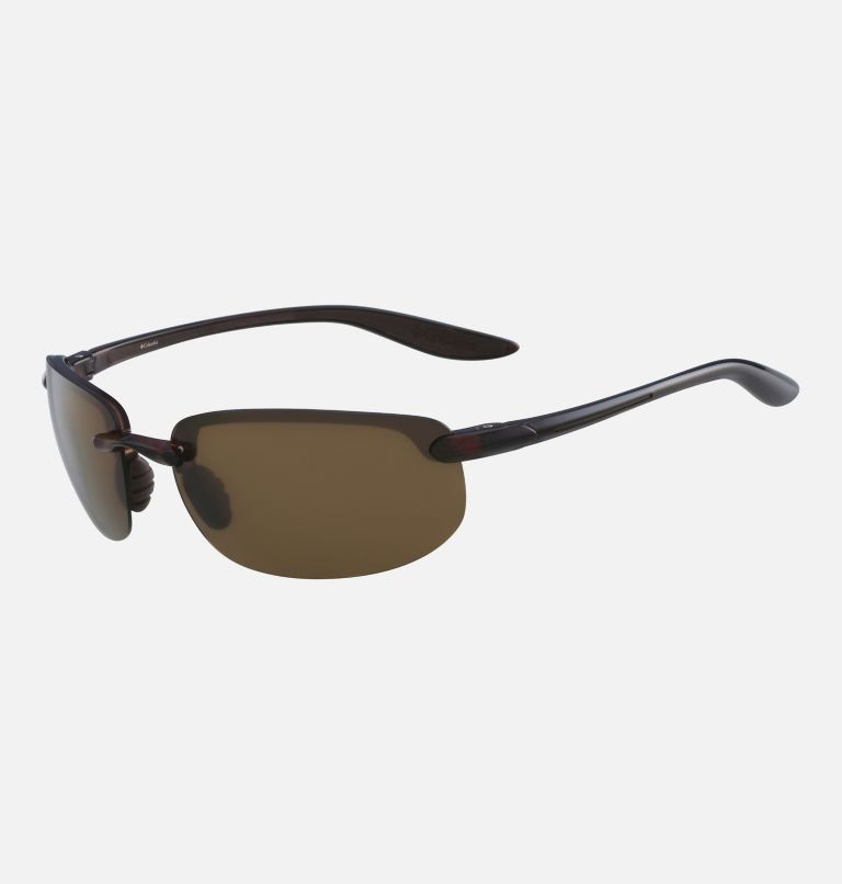 Men's Unparalleled Sunglass | 201 | NONE Men's Unparalleled Sunglasses, Brown Crystal/ Brown, back