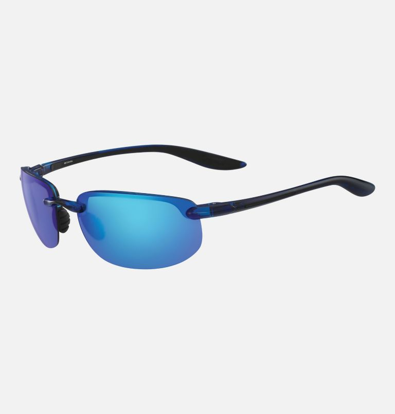 Men's Unparalleled Sunglass | 426 | NONE Men's Unparalleled Sunglasses, Navy Crystal/ Blue, back