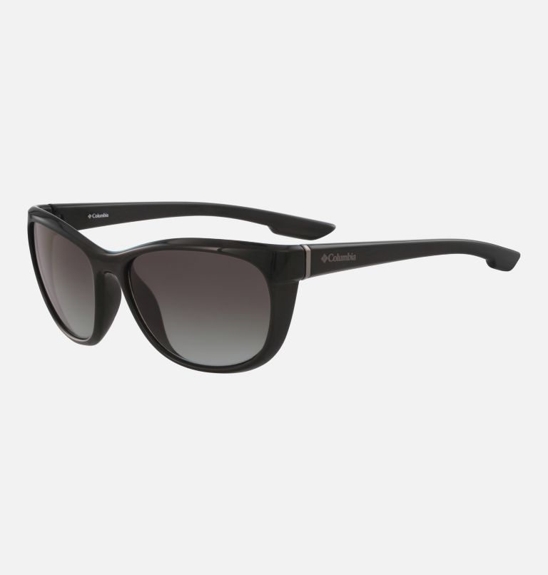 Women's Wildberry Sunglass | 001 | NONE Women's Wildberry Sunglasses, Shiny Black/Smoke Gradient, back
