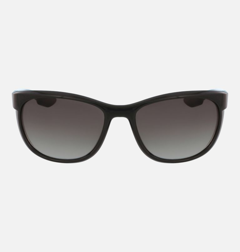 Women's Wildberry Sunglass | 001 | NONE Women's Wildberry Sunglasses, Shiny Black/Smoke Gradient, front