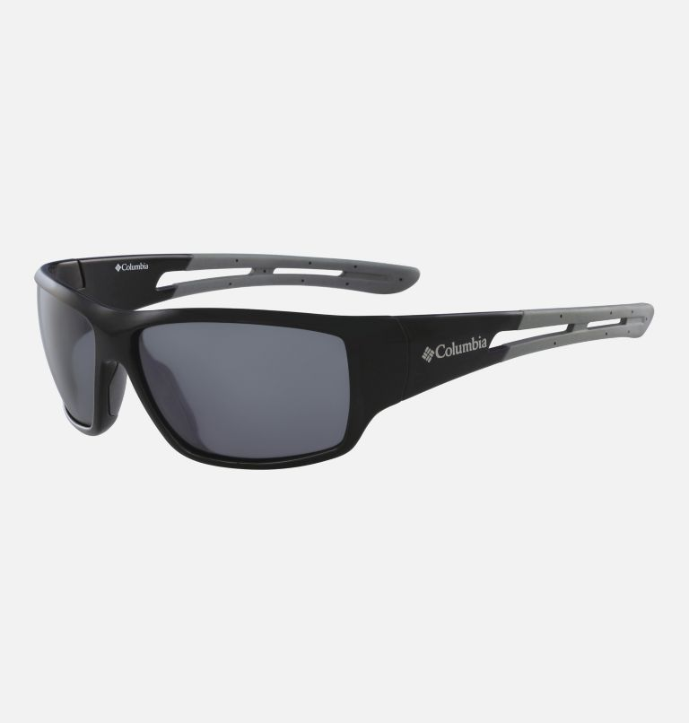 Men's Utilizer Sunglass | 001 | NONE Men's Utilizer Sunglasses, Shiny Black/ Silver Flash, back