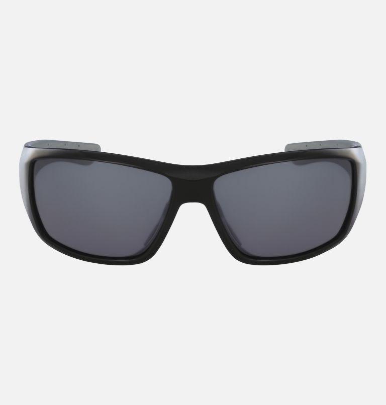 Men's Utilizer Sunglass | 001 | NONE Men's Utilizer Sunglasses, Shiny Black/ Silver Flash, front