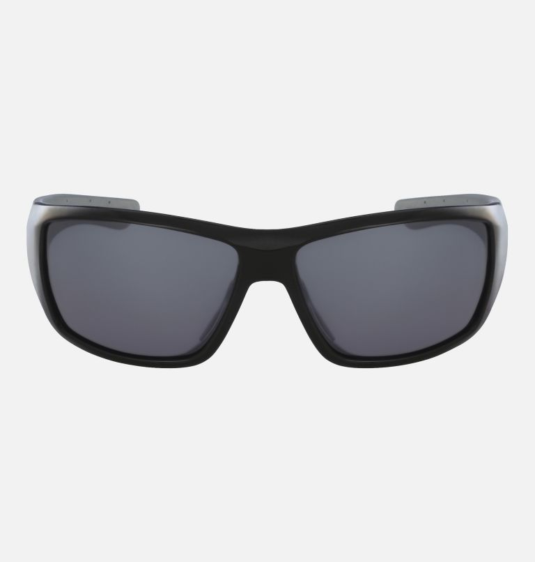 Men's Utilizer Sunglass | 001 | NONE Men's Utilizer Sunglasses, Shiny Black/ Silver Flash, front