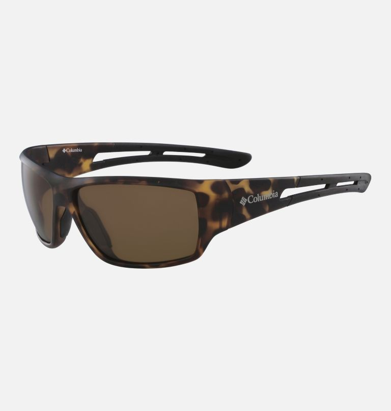 Men's Utilizer Sunglass | 257 | NONE Men's Utilizer Sunglasses, Matte Tortoise/ Brown, back