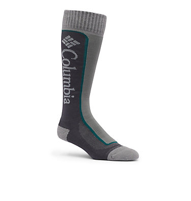 Ski Over The Calf Thermolite Unisex Sock 1-Pack C548 SKI OTC THERMOLITE | 663 | M, Charcoal, front
