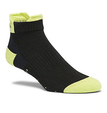 Unisex Light Weight Low Trail Running Sock - 1-Pair C635 RUN NO SHOW TAB HEELS LIGHT WEIGHT | 263 | S, Black, front