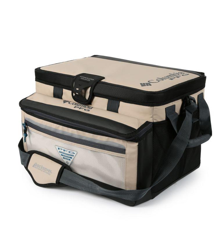 Brewha Zipperless Hardbody The | 160 | O/S PFG Brewha™ Family Size Zipperless Hardbody® Thermal Pack, Fossil, front