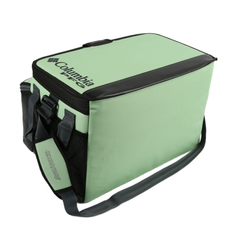 Brewha Zipperless Hardbody The | 388 | O/S PFG Brewha™ Family Size Zipperless Hardbody® Thermal Pack, Napa Green, back