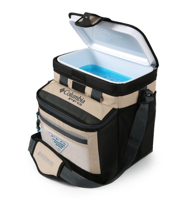 PFG Skiff GuideT Thermal Pack | 160 | O/S PFG Skiff Guide™ Mid-Size Zipperless Hardbody® Bag, Fossil, back
