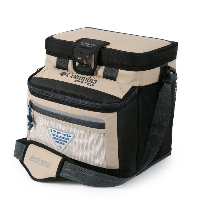 PFG Skiff GuideT Thermal Pack | 160 | O/S PFG Skiff Guide™ Mid-Size Zipperless Hardbody® Bag, Fossil, front