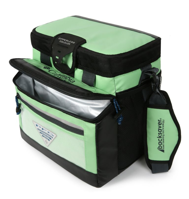 PFG Skiff Guide Hardbody Cooler | 372 | NONE PFG Skiff Guide™ Mid-Size Zipperless Hardbody® Bag, Key West, back