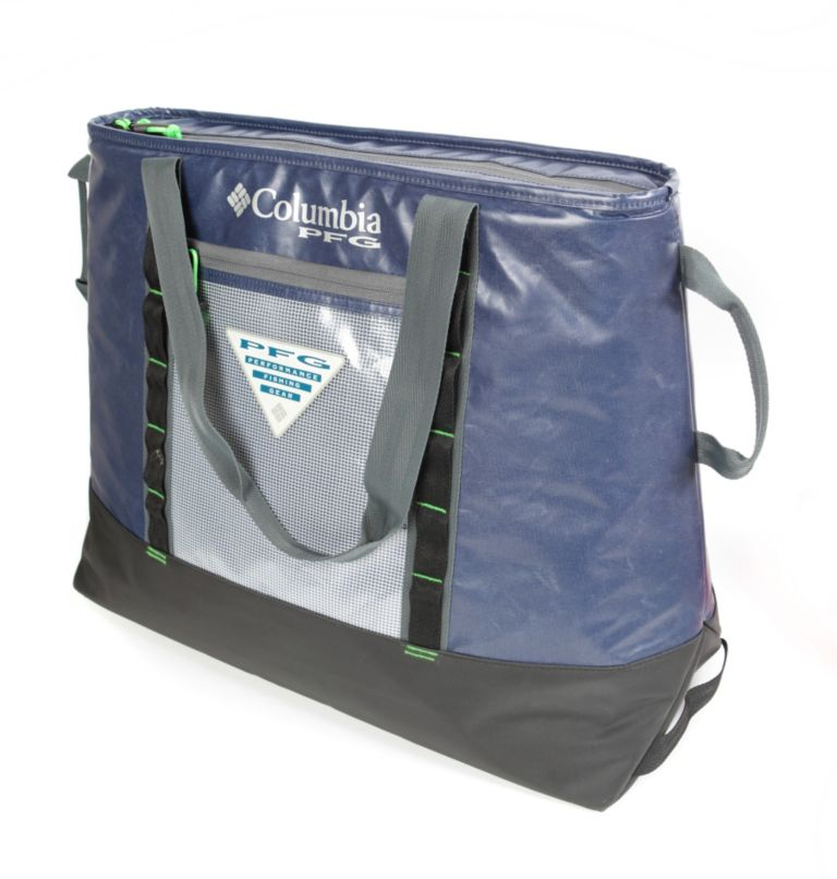 PFG Perfect CastT Ultimate The   464   O/S PFG Perfect Cast™ 45L Thermal Tote, Navy, front