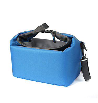 Cascades Explorer™ Roll Top Lunch Bag Cascades Explorer Roll Top Lun | 011 | O/S, Azure Blue, back
