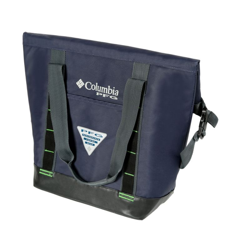 PFG Permit Mid-Size Roll Top Thermal Bag | 160 | NONE PFG Permit Mid-Size Roll Top Thermal Bag, Navy, front