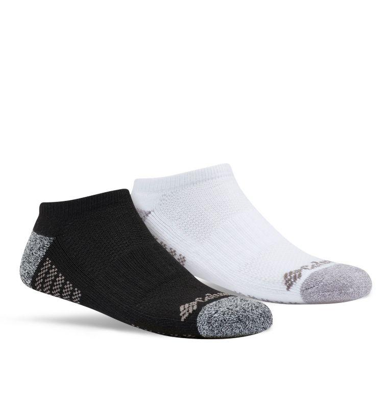 Kids' No Show 3pk | 101 | O/S Little Kids' No-Show Socks - 3 Pack, Black/White Assorted, front