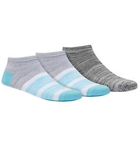 Women's Colorblock Bootie Sock - 3 Pack