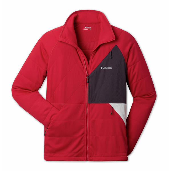 Fleece with zip