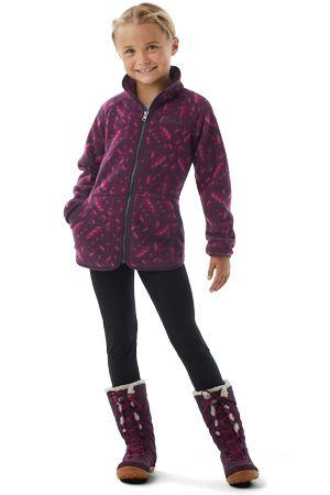 Disney Anna Full Zip Fleece
