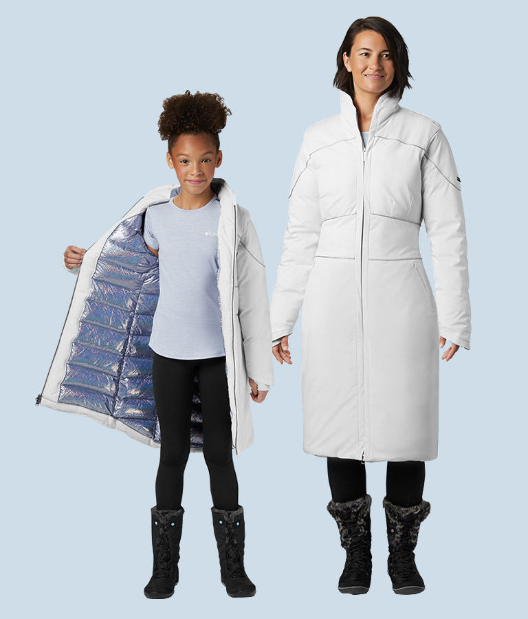 Women's and Girls' Elsa Down Coat