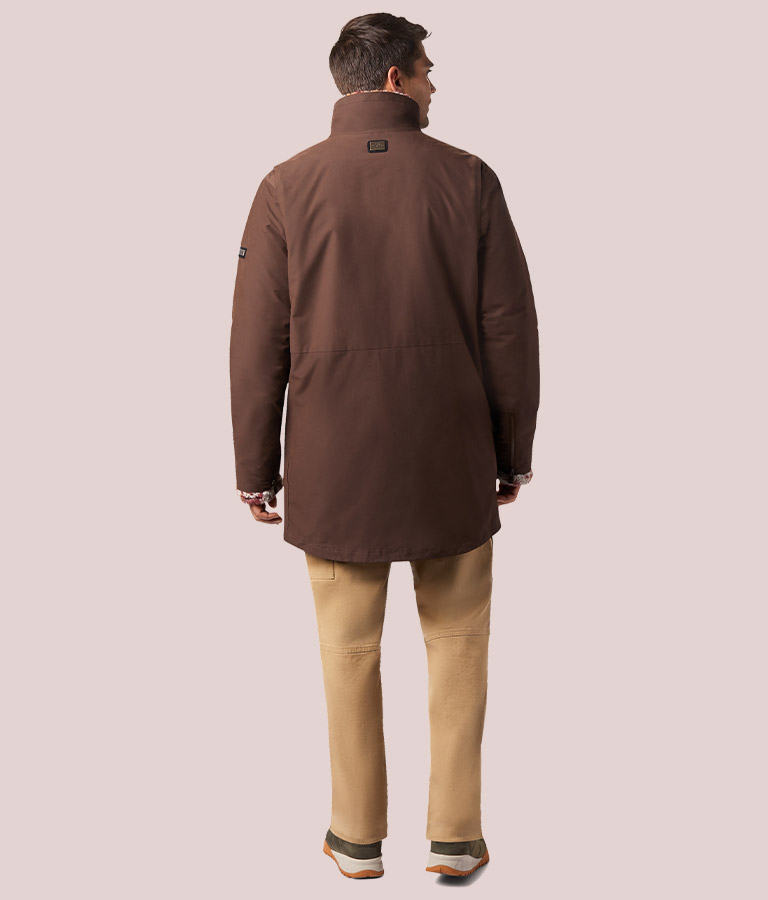 Men's Kristoff Interchange Jacket back view