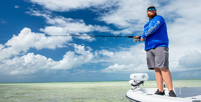 The country star and PFG ambassador talks music, fishing, and the upside to downtime.
