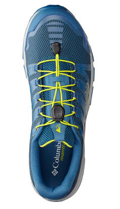 A shoe with FluidGuide cushioning technology.
