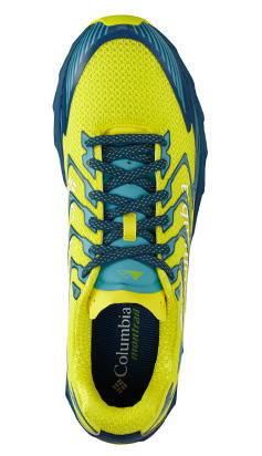 A shoe with TrailShield technology.